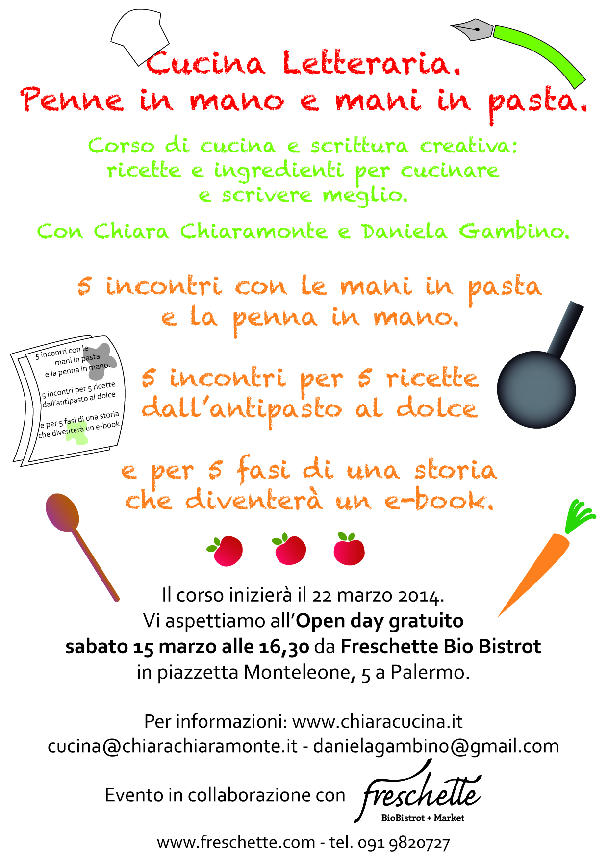 Cucina letteraria penne in mano e mani in pasta for Cucina per cucinare