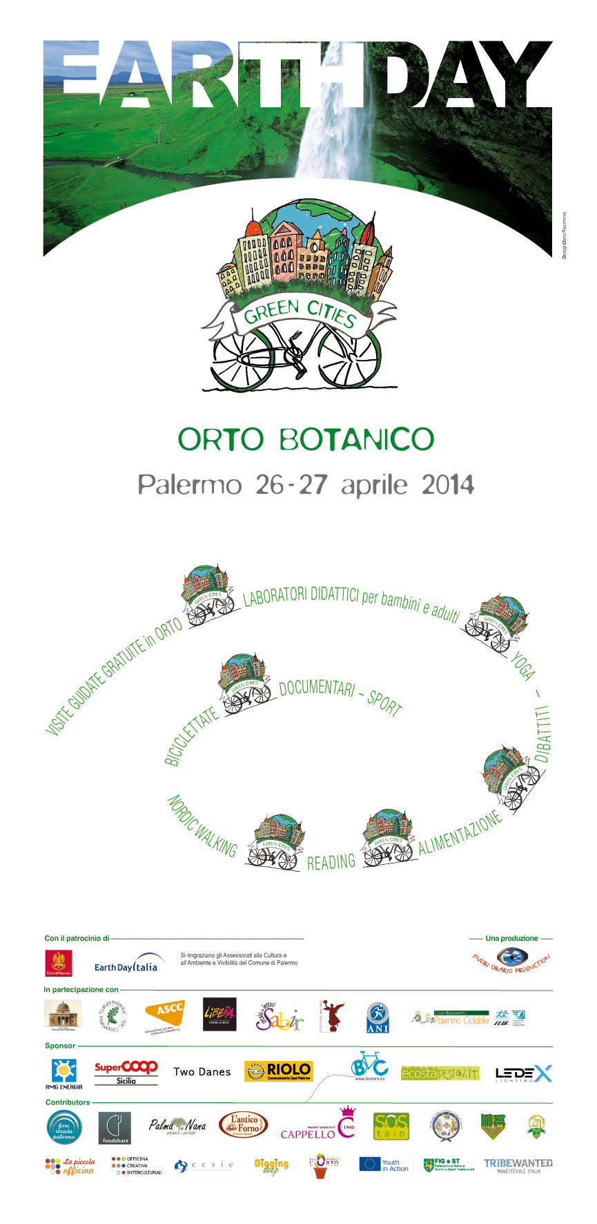 earth day palermo 2014